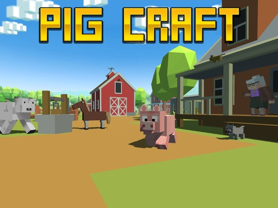 Blocky Pig Simulator 3D Full Screenshots