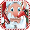 Santa Clause Beard Salon - Merry Christmas Sticker