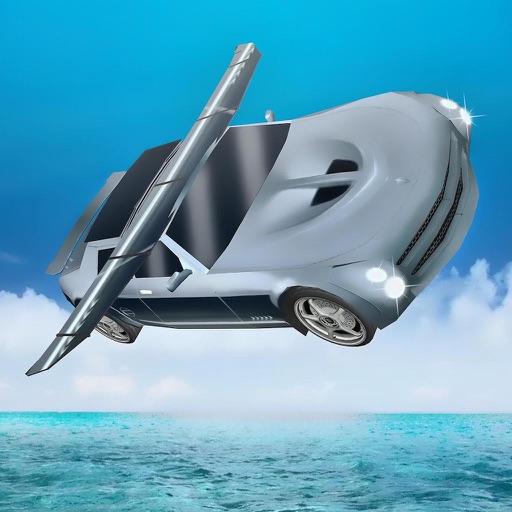 Free Sports Flying Racing Car Simulator 2017 NEW iOS App