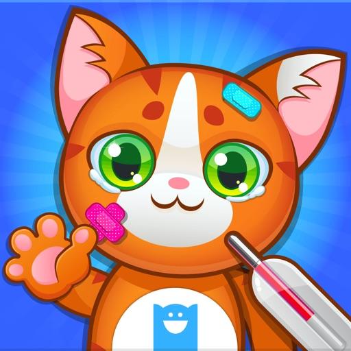 Doctor Pets - 獣医さん - 子供の動物を診察 (No Ads)