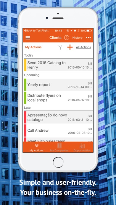 Screenshot of MOBIZY - App for Small Business2