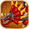 機械三角龍:雙人機器恐龍拼圖遊戲