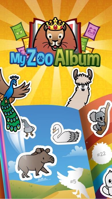 My Zoo Album - Наклейка Книга Виртуальных Животных Screenshot