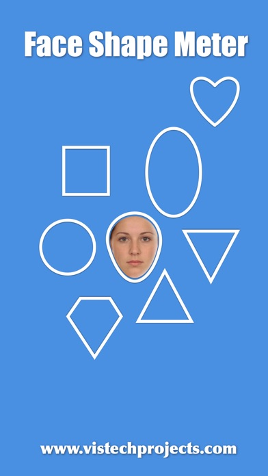 Face Shape Meter - find out face shape from photo Screenshot