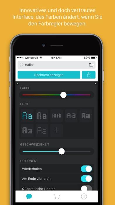 LEDit – Die LED-Banner-App Screenshot
