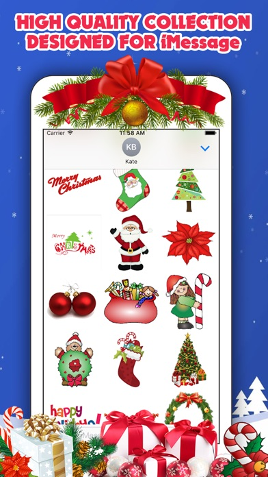 Screenshot of 300 Christmas Stickers4