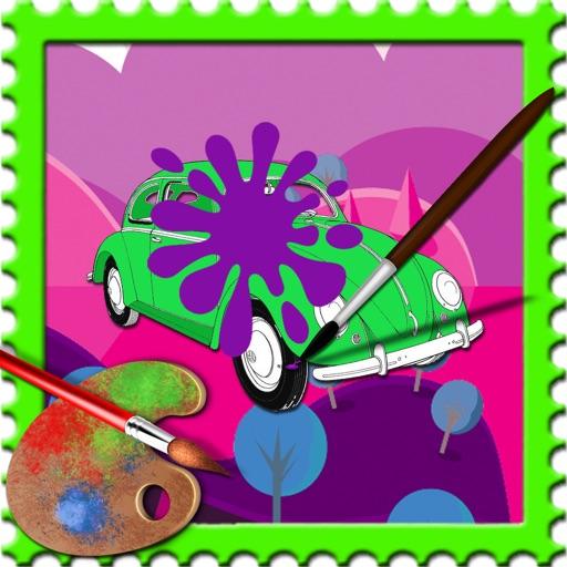 Coloring Pages car Version iOS App