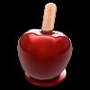 キャンディーアップル:ベクターグラフィックスデザイン