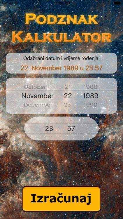 Horoskop kalkulator podznak Пресметување на