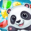 Panda Cookie - pop & smash jam Match 3 Games Free logo