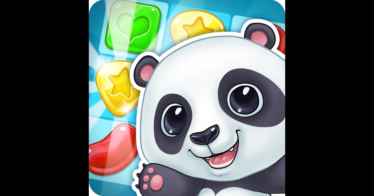 panda cookie pop smash jam match 3 games free on the app store. Black Bedroom Furniture Sets. Home Design Ideas