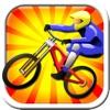 Downhill Mountain Bike Racer