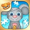 123 Kids Fun PUZZLE BLUE - Top Slide Puzzle Games