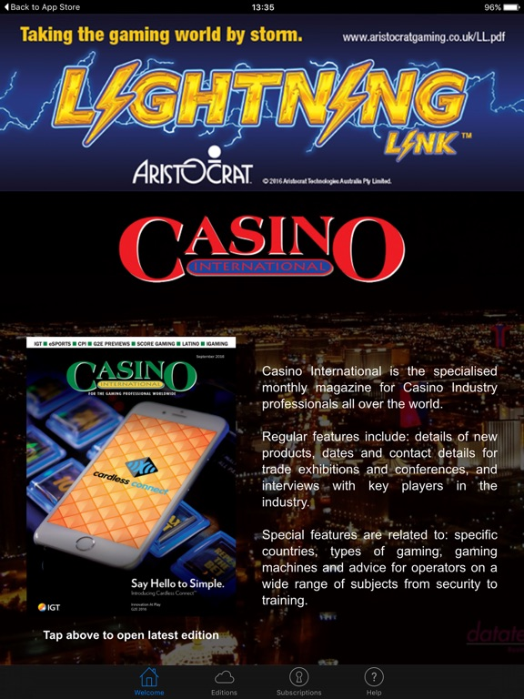 Casino industry magazine what to play in casinos