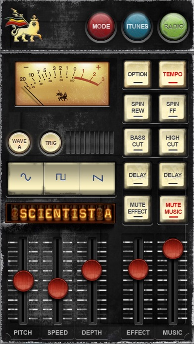 Screenshot Dub Siren DX -DJ Mixer Synth + Reggae Dub Radio