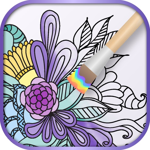 Mandala Coloring Book iOS App