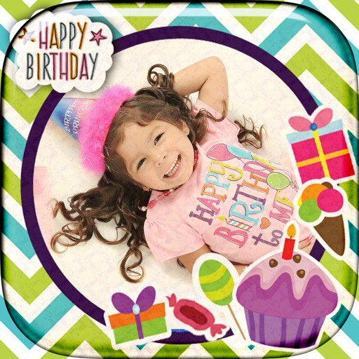 Birthday Photo Frame.s - Bday Gift Card.s Make.r iOS App