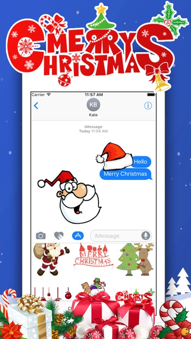 Screenshot of 300 Christmas Stickers1