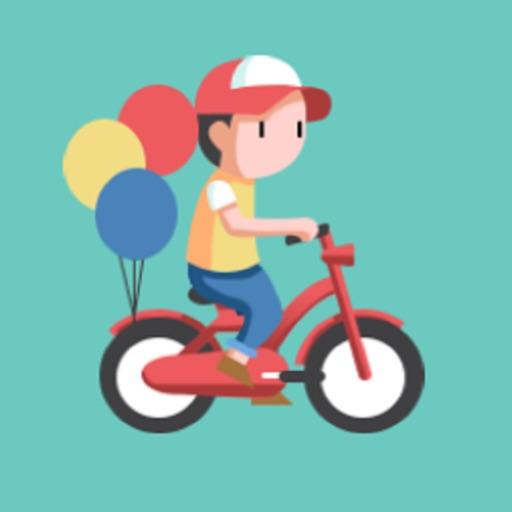 Flying Bike Adventure iOS App