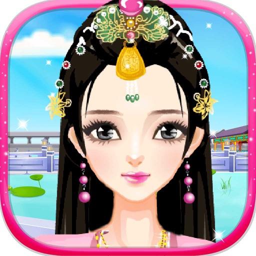 古代盛裝美人-古装妃子换装美妆女生游戏
