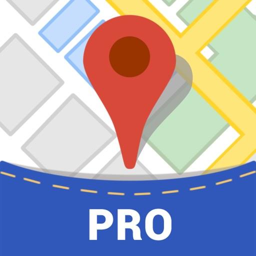 Offline Maps Pro - for Google Edition & Wikipedia iOS App