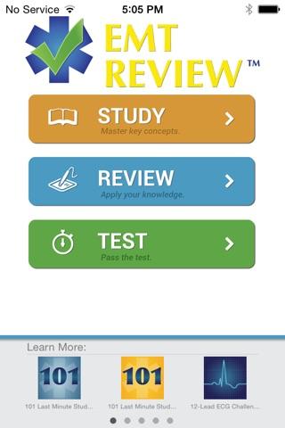 EMT Review Plus screenshot 1