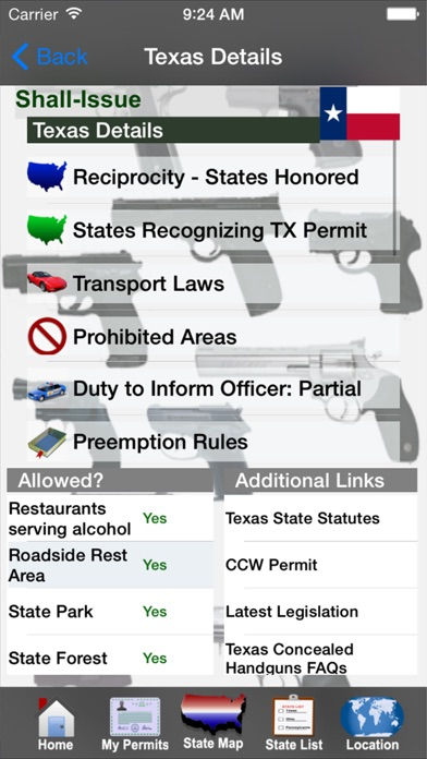 download CCW – Concealed Carry 50 State Guide apps 1