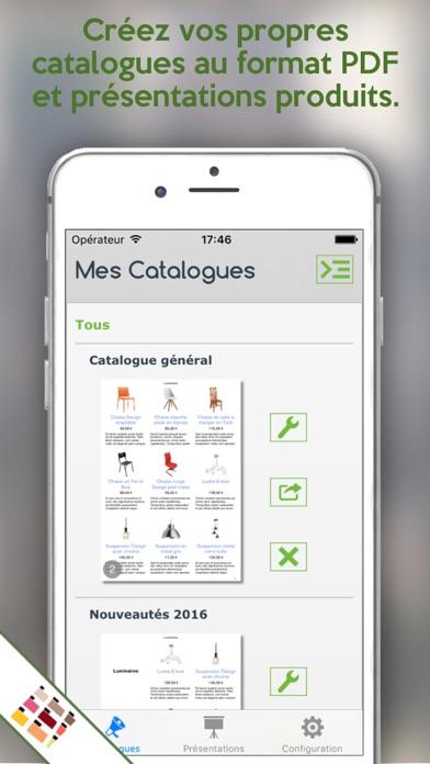 Vos Catalogues PDF de produitsCapture d'écran de 1