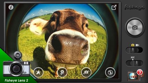 魚眼カメラ (Fisheye) - LOMO Fisheye Camera Screenshot