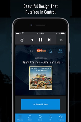 SiriusXM Radio screenshot 2