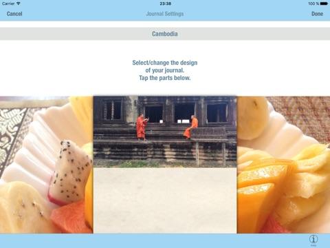 TRAVLER - The Travel Journal/Diary/Log Screenshot
