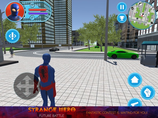 Strange Hero: Future Battle на iPad