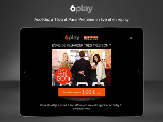 6play tv en direct et en replay dans l app store. Black Bedroom Furniture Sets. Home Design Ideas