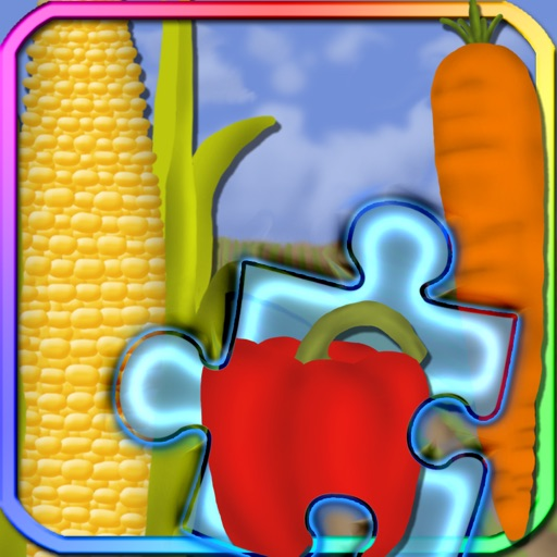 Vegetables Puzzle Pieces iOS App