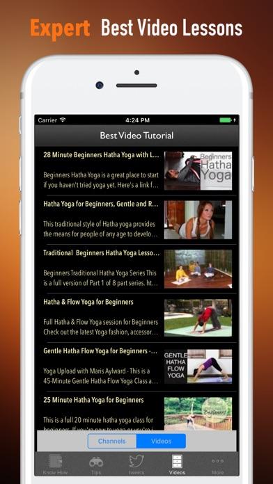 Хатха-йога для начинающих-видео и учебники РуководСкриншоты 3