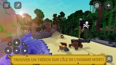 Pirate des Caraïbes Craft: Exploration île trésorCapture d'écran de 1
