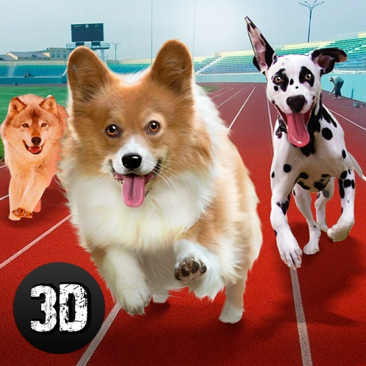Dog Racing Tournament Sim 3D Full iOS App