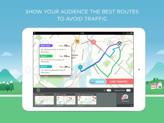 W On Air On The App Store - Us road map for ipad