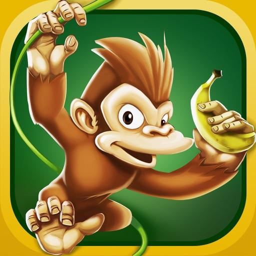 Funny Monkey Run iOS App