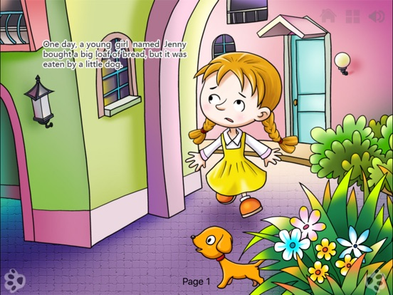 Seven Colored Flower Bedtime Fairy Tale iBigToy Скриншоты9