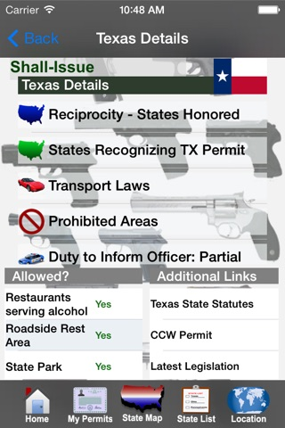 CCW – Concealed Carry 50 State Guide screenshot 2