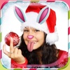 Christmas Snap Photo Stickers: New Year Effects