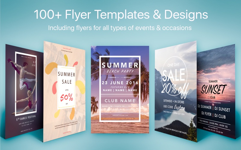 flyers templates for mac