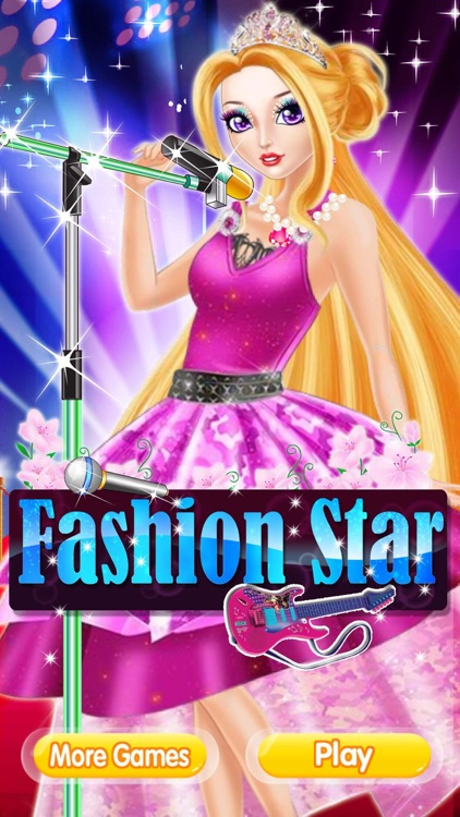Fashion Star Dress Up Game For S
