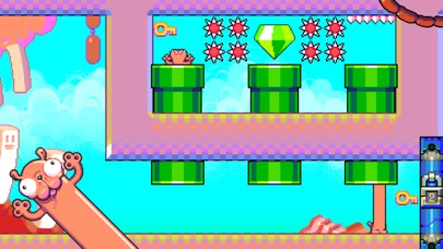 Silly Sausage in Meat Land screenshot one