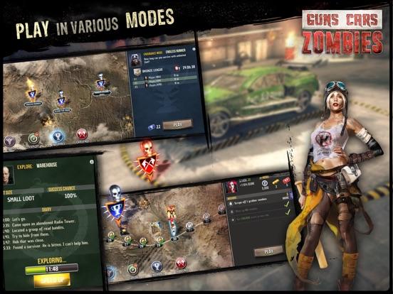 Guns, Cars, Zombies! screenshot 9