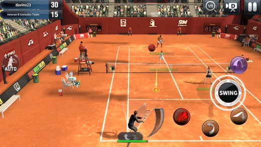Ultimate Tennis Screenshots