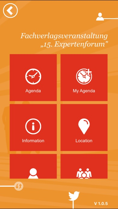 Screenshot von PwC EventApp1
