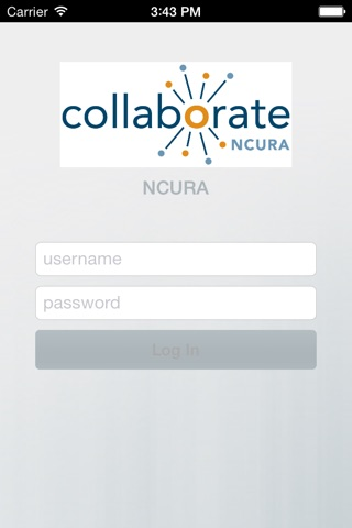 NCURA Collaborate screenshot 1