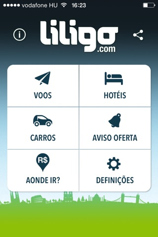 Liligo: Flights, Hotels & Cars screenshot 1